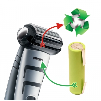 Akkutausch Philips Bodygroomer